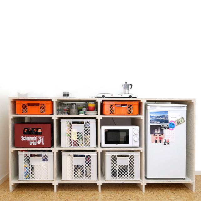 TOM kitchen cupboard