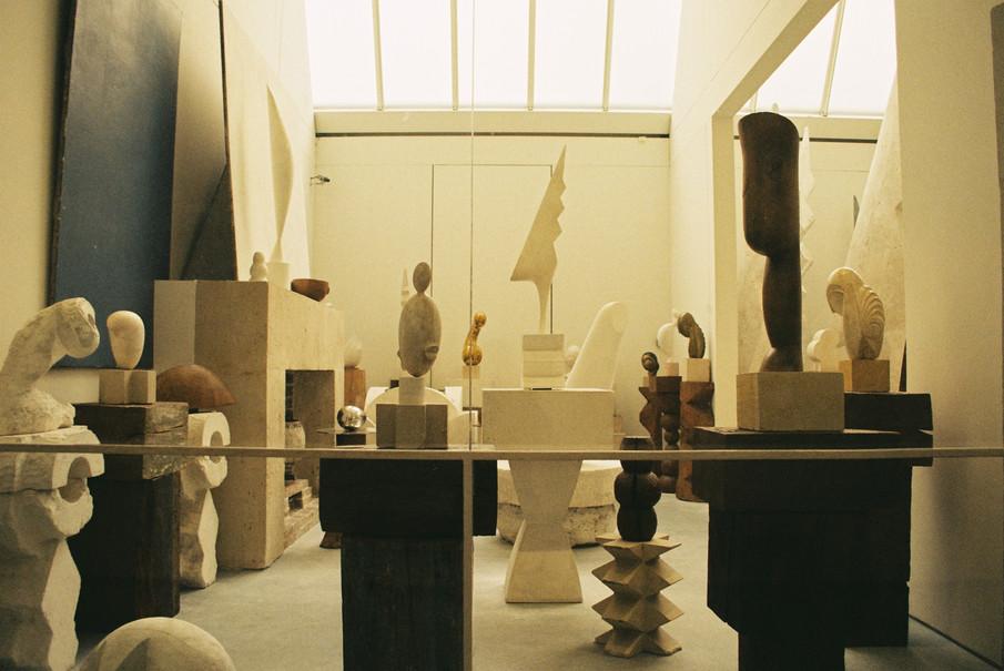 Atelier Brancusi Paris, France | canon EOS 300 | 2018