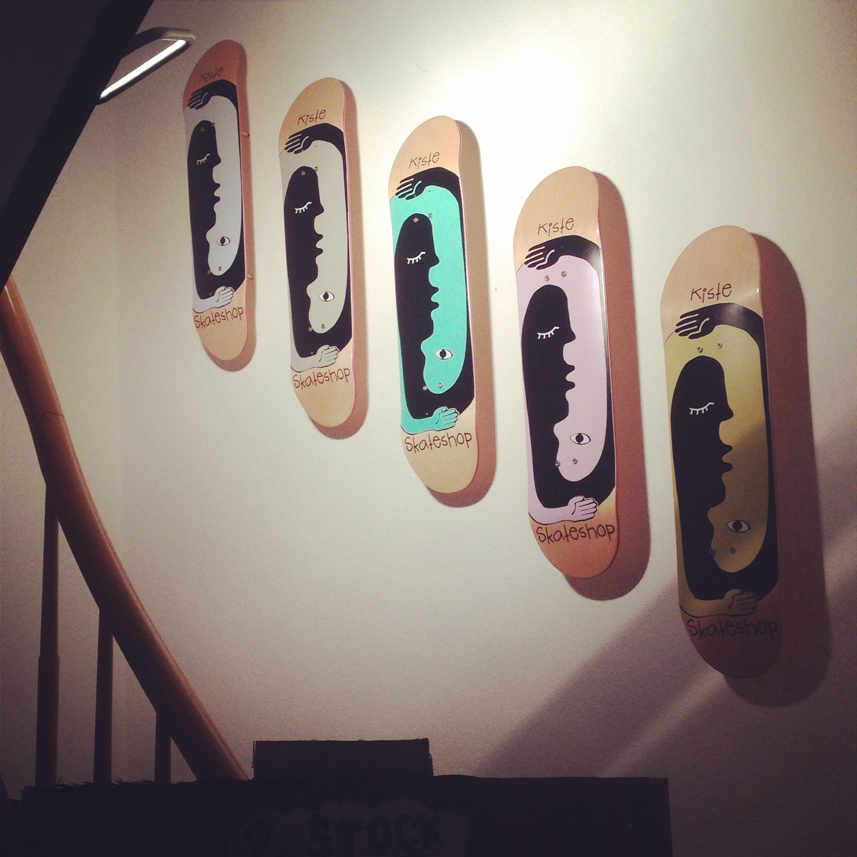Skateboardgrafik_Alex Klein Design 2014.