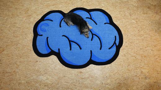 cloud doormat