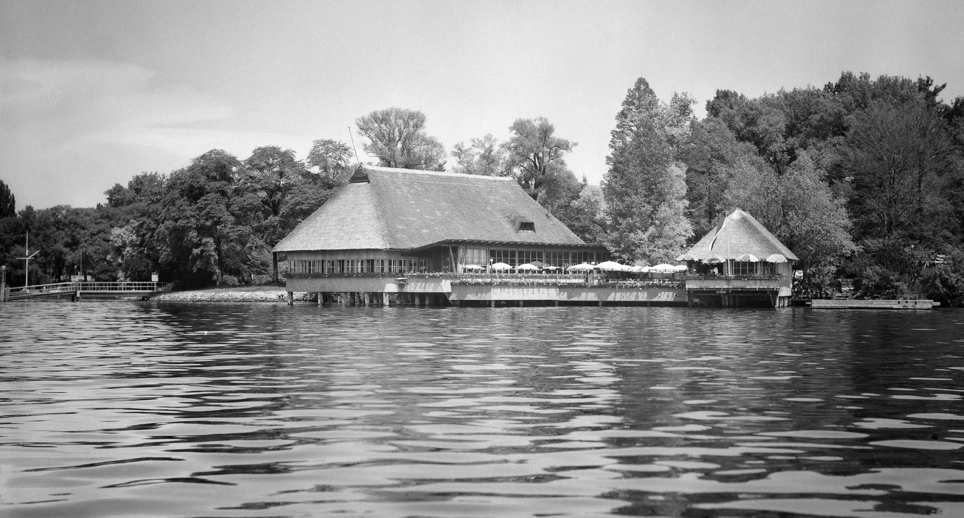 Quelle: Stadt Zürich Hochbaudepartement – Aussenaufnahme Fischerstube 1945