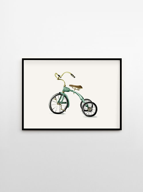 Artprint – Tricycle