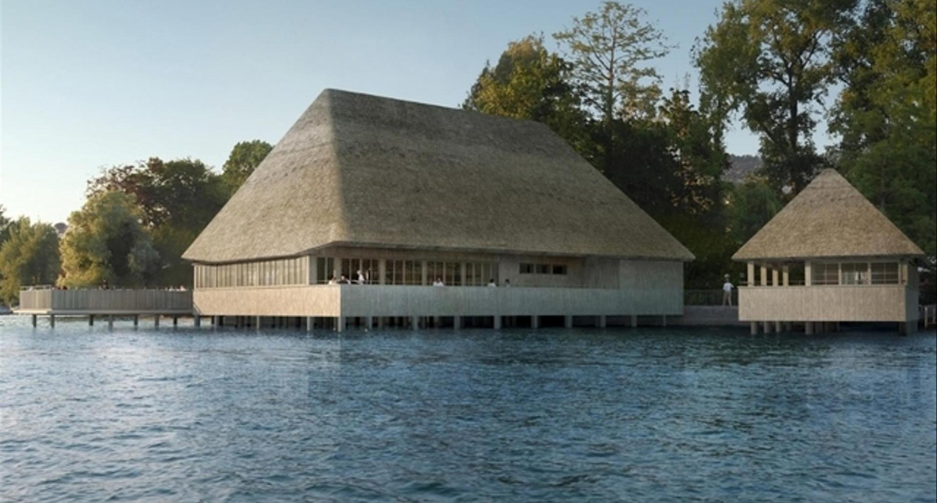 Visualisierung Fischerstube © Architekturbüro Patrick Thurston – Neubau 2021