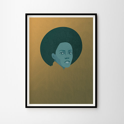 Artprint – Woman Of Gold