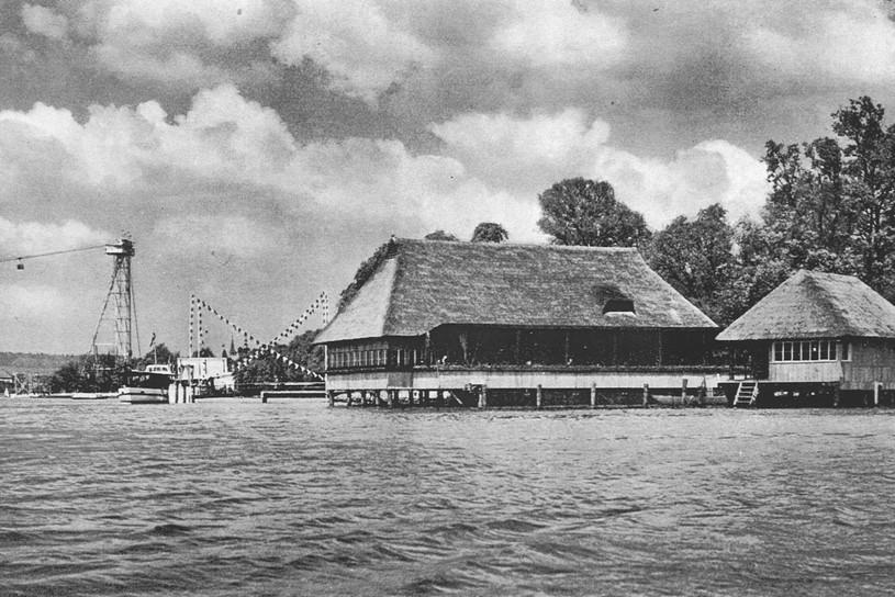 Quelle: Stadt Zürich Hochbaudepartement – Aussenaufnahme Fischerstube 1939