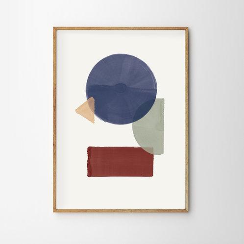 Artprint – Geometric Arrangement No.2