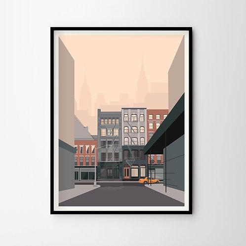 Artprint – Homage to New York