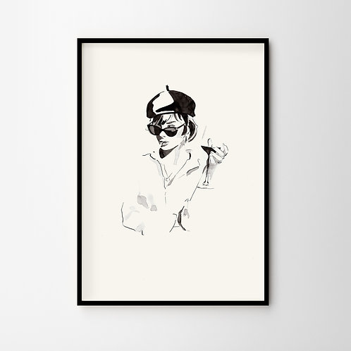 Artprint – Frenchy