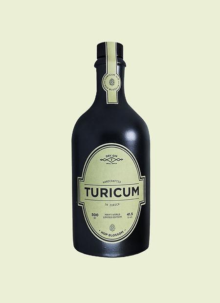Turicum Gin Label Design
