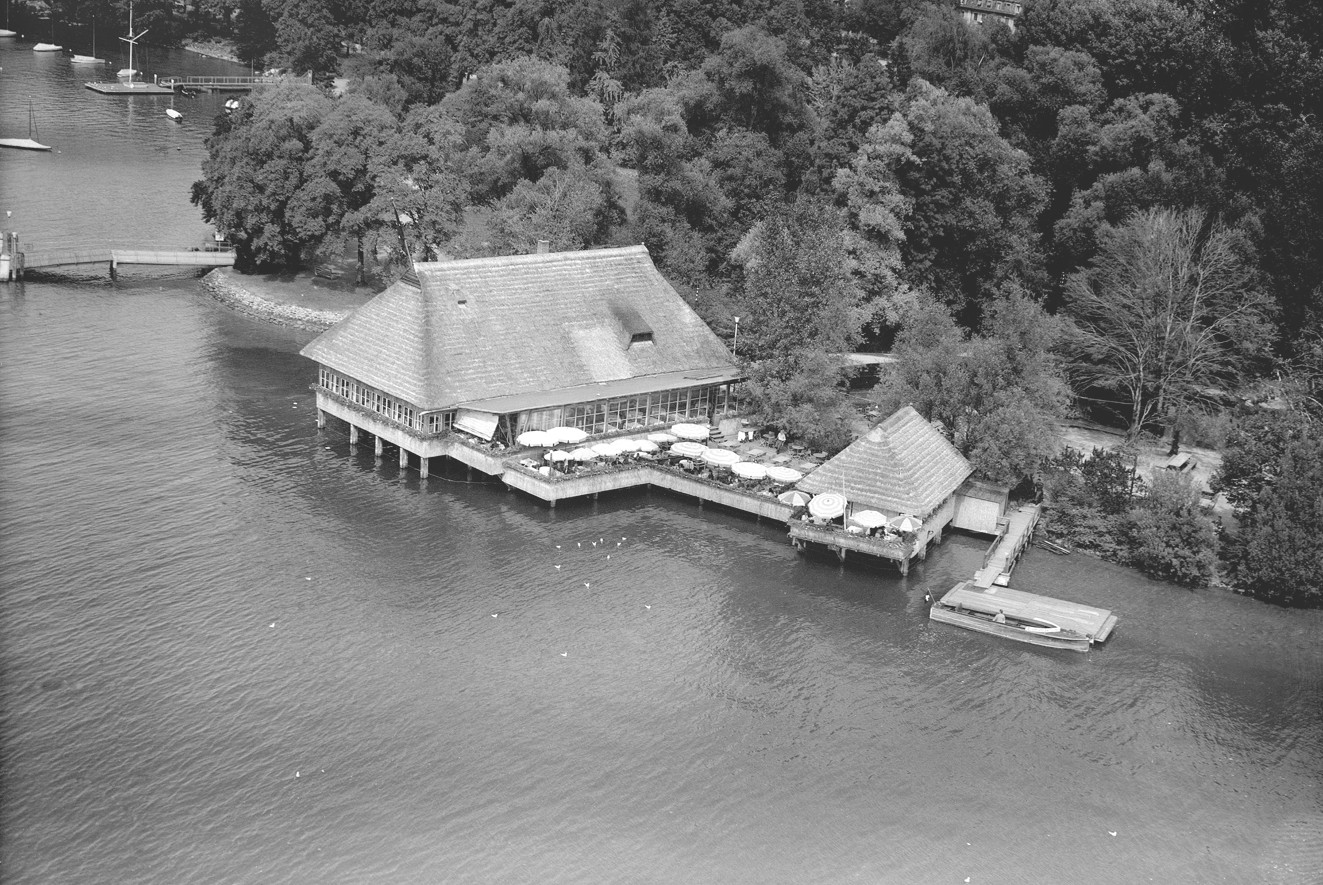 Quelle: Stadt Zürich Hochbaudepartement – Luftaufnahme Fischerstube 1947