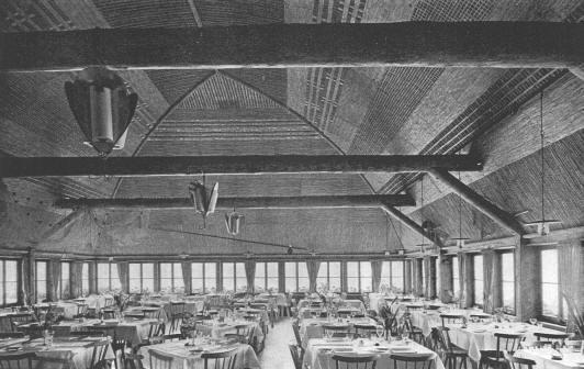 Quelle: Stadt Zürich Hochbaudepartement – Innenaufnahme Fischerstube 1939