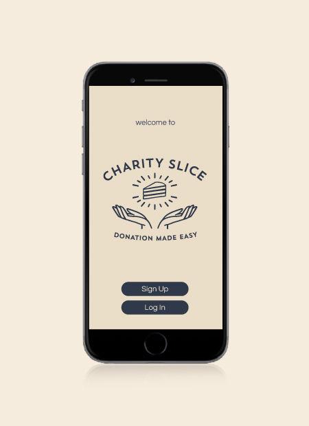 Charity Slice Logo Design