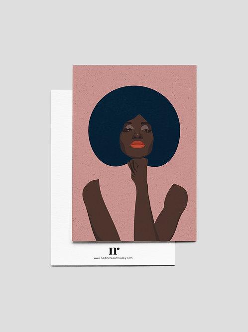 A6 Greetingcard: Girlboss