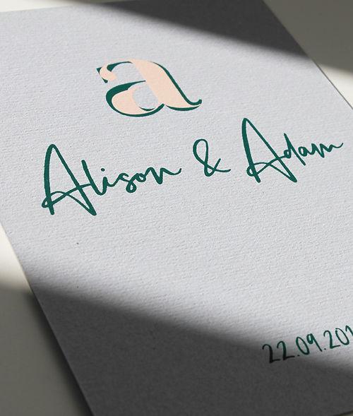 Wedding Design Invitation