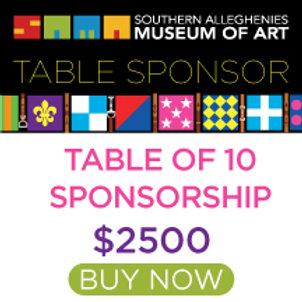 Table Sponsorship