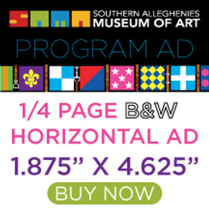 Program Ad Gala Quarter Page Horizontal