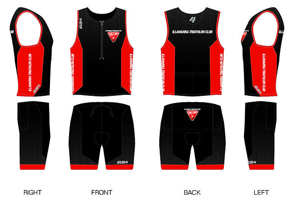 Illawarra TC - Endurance 2 Piece Tri-Men