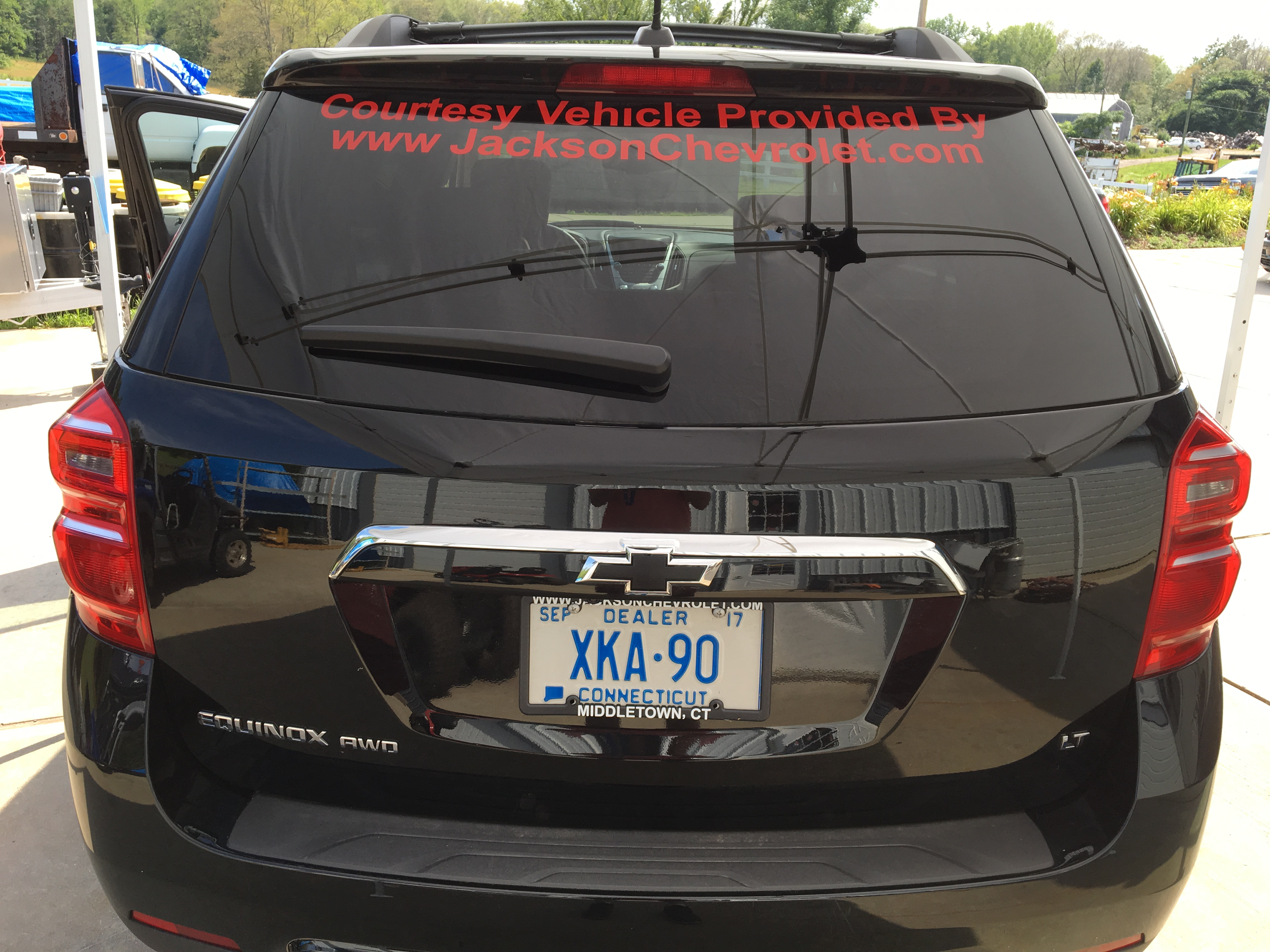 Jackson Chevrolet Decals