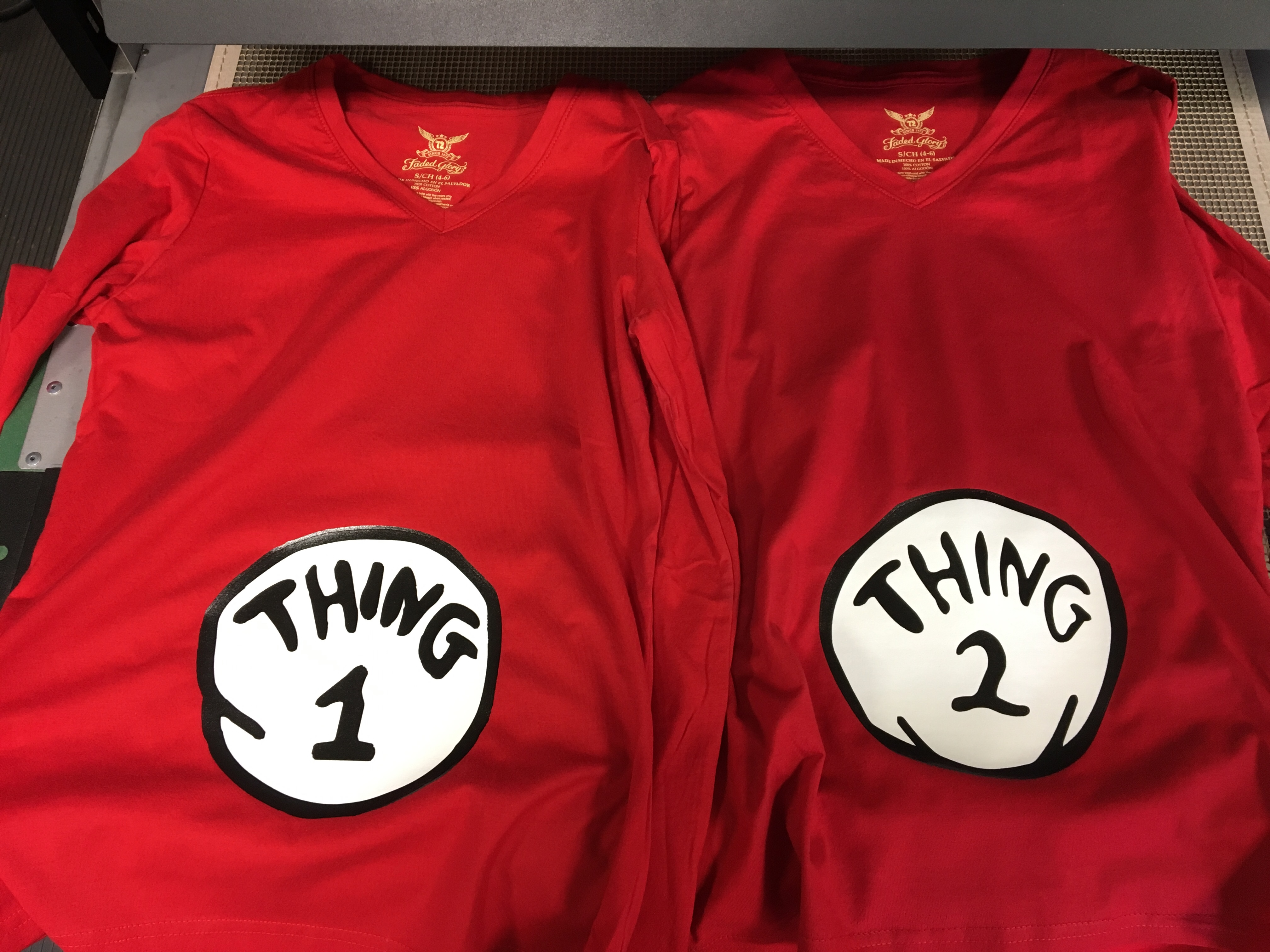Thing 1 Thing 2 Dr Suess