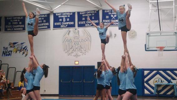East Catholic Cheerleading