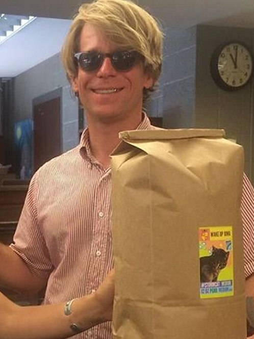 LOCAL DELIVERY ONLY! NO SHIPPING Five Pound Bag of Wake Up Iowa City Coffee