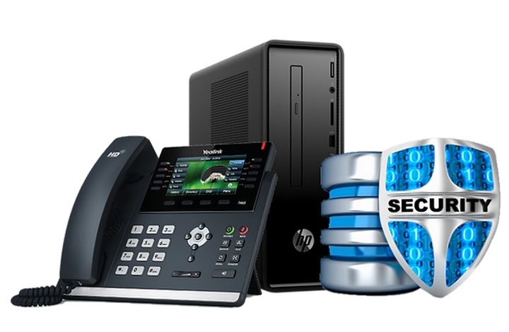 Computer System Network Security and Business Phone