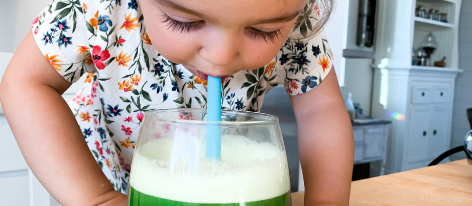 REASONS WHY I SHARE CELERY JUICE WITH MY TODDLER