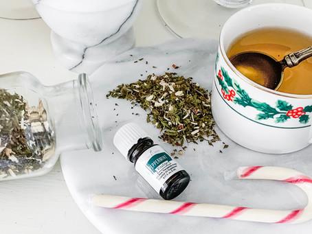 Candy Cane Herbal Tea Recipe