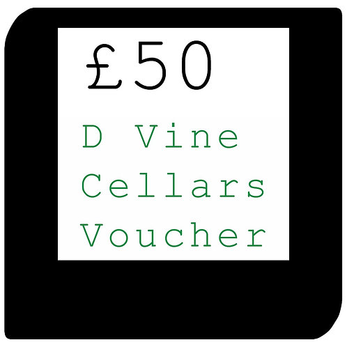 £50 D Vine Cellars Voucher