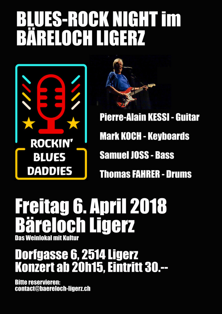 baereloch kultur blues night