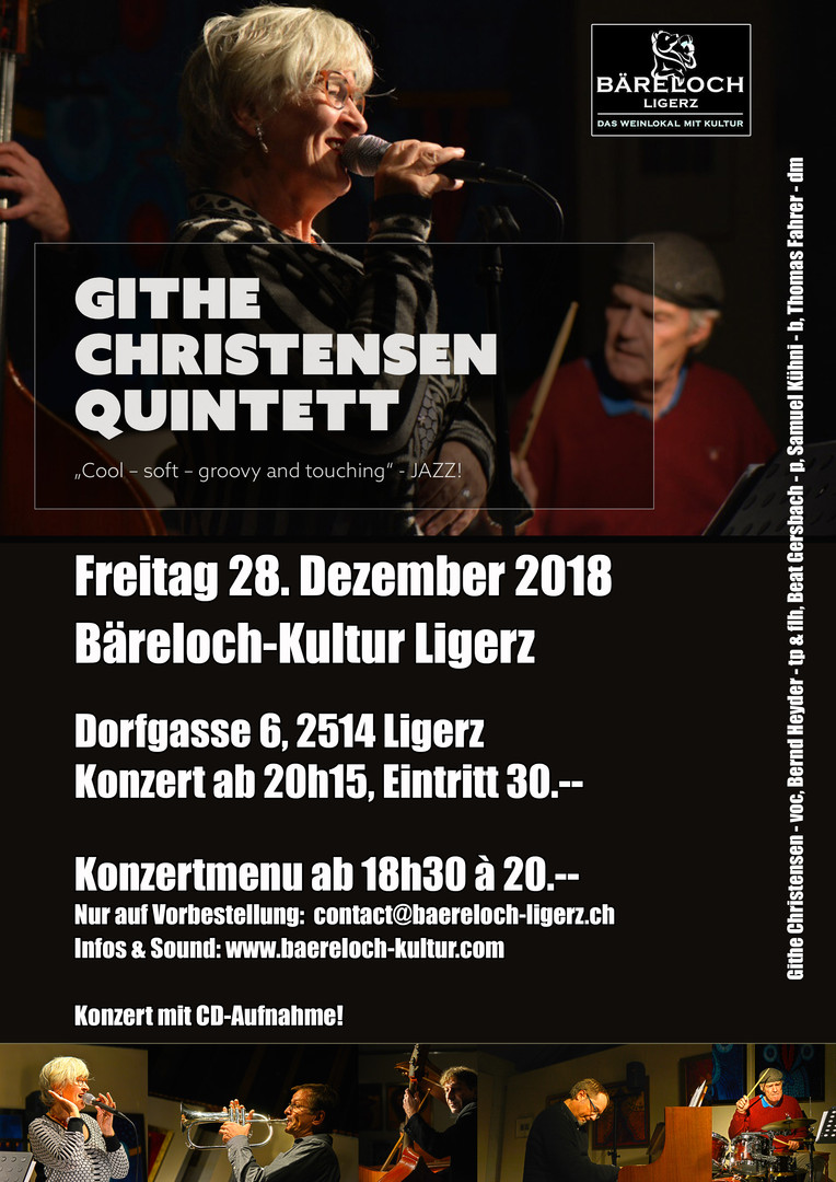 githe christensen quintett & julie fahrer