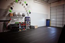 Yoga and Bootcamp Area