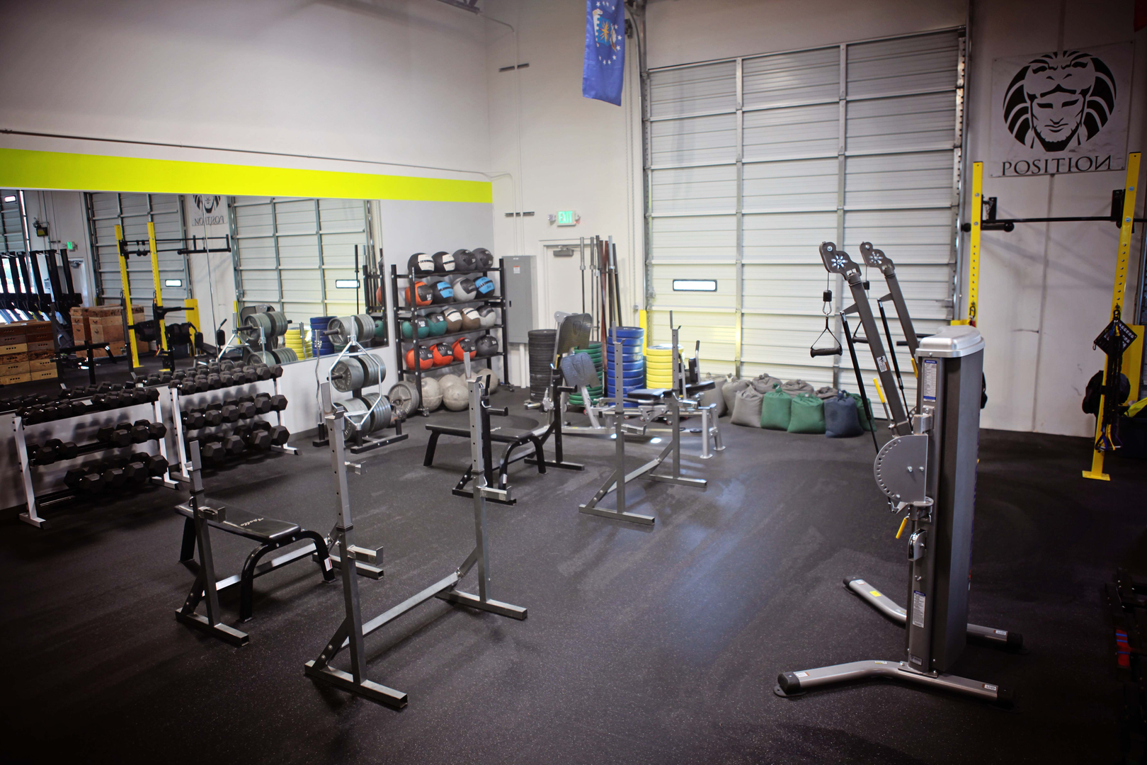 Open Gym Area
