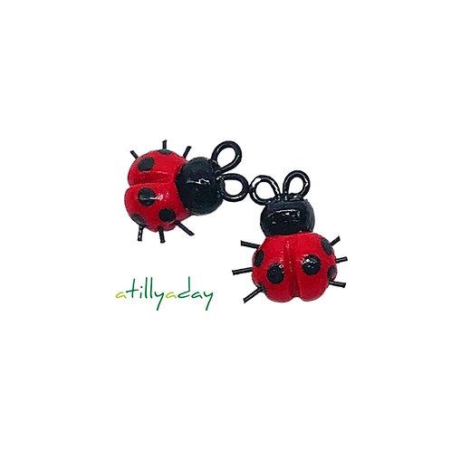 Lady Bug Figurine