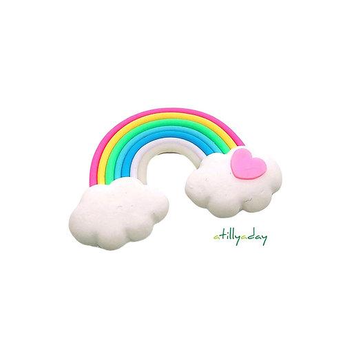 Rainbow Cloud Figurine