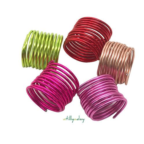 Aluminium Wire Coil x 5