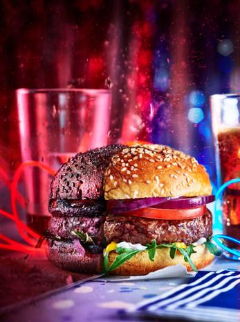 Stanger Things Burgers - Le Demogorgon - Kris Kirkham - Seiko Hatfield