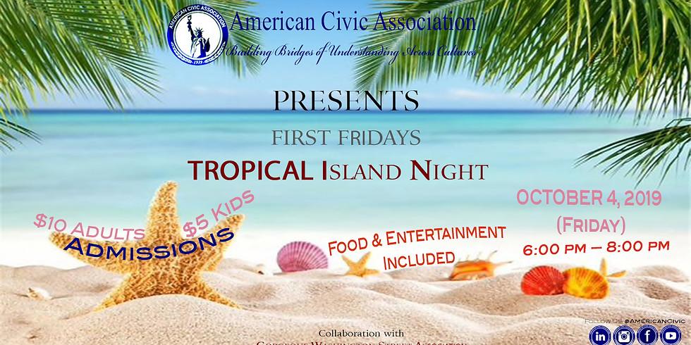 Tropical Island Night | ACA First Friday