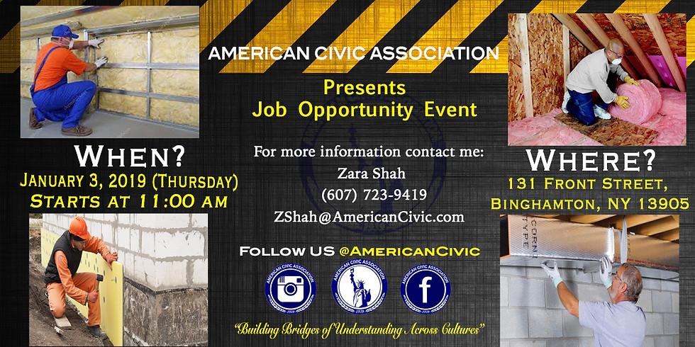 The Job Opportunity Event | RSSP Program