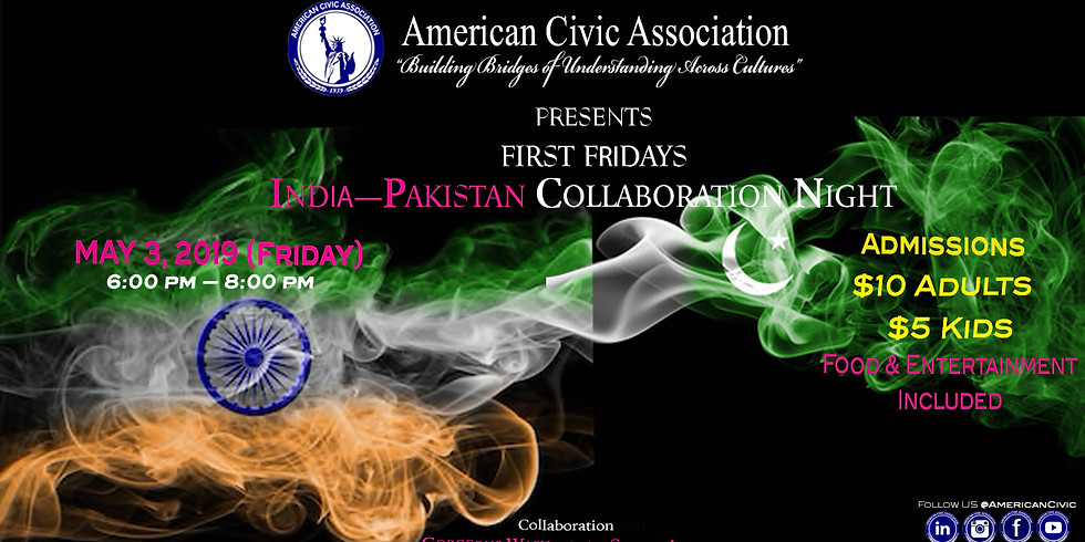India—Pakistan Collaboration Night | ACA First Friday