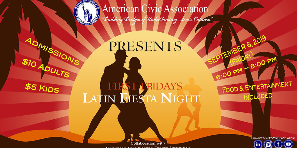 Latin Fiesta Night | ACA First Friday