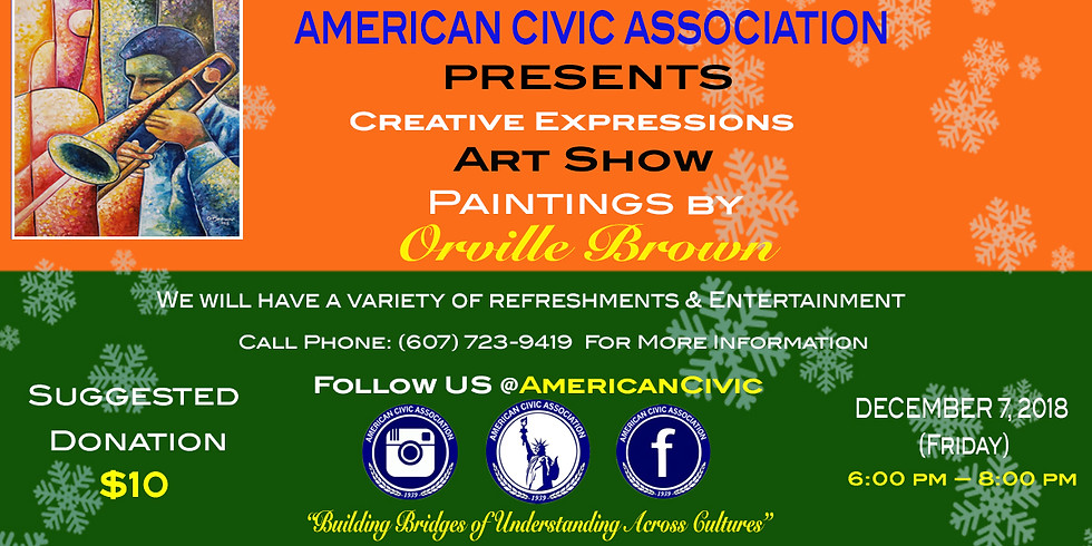 Creative Expressions | First Friday at the American Civic