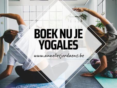 Yoga tijdens de zomer!