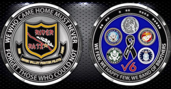 River Rats Challenge Coin