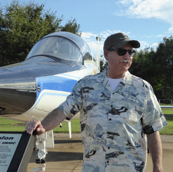 "T-38 NASA Talon  Joe  Tucker ""Rocket""- Board Secretary"