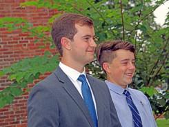 Maj. Mateja's grandsons