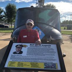 "UH-1 Huey  Carroll Hildreth- ""Ace""- Director Emeritus"