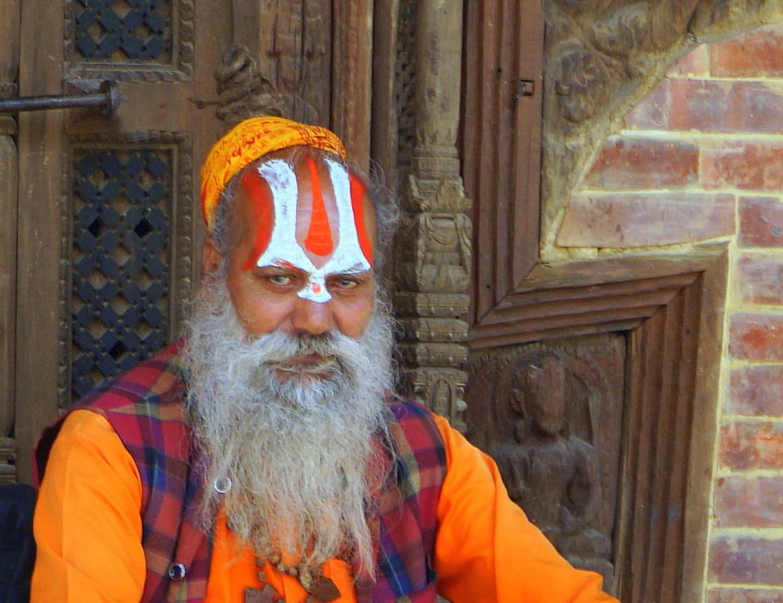 Ein Guru aus Nepal