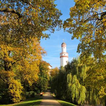 Weißer Turm im Schloss Bad Homburg v.d.H.