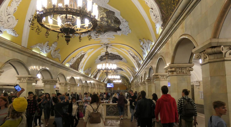 Metro- Moskau